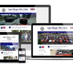 San Diego MG Club membership website