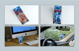 Product photos for advertising and displays