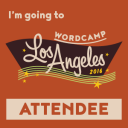 WordCamp LAX 2016 Attendee Badge